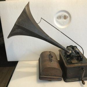 Edison Standard Home Phonograph and horn Antique Collectibles