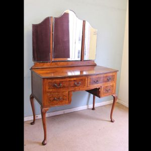 Antique Burr Walnut Dressing Table Antique Antique Dressing Tables