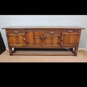 Antique Oak Sideboard Dresser Base Antique Antique Sideboards