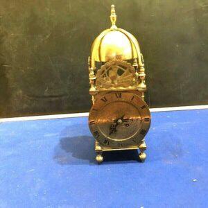 Large Lantern clock, two train French mechanical movement Antique Clocks