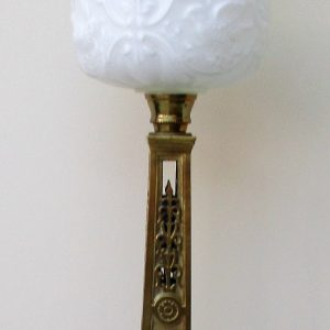 Anglo-French Oil Lamp