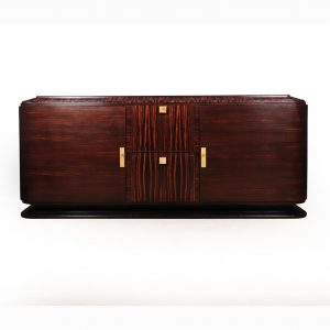 Art Deco Sideboard In Macassar with Shargreen Detail Paris 1925 Antique Sideboards