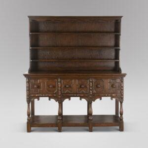 A 19thc Welsh Oak Dresser Antique Dressers