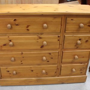 1960's Country Pine Merchants Chest Drawers Antique Antique Chest Of Drawers