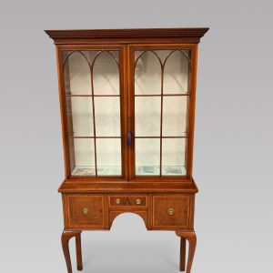 An Edwardian Display Cabinet Antique Antique Cabinets