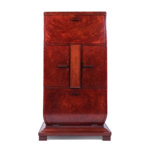 Italian Art Deco Cocktail Cabinet Antique Cabinets