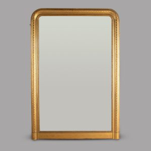English 19th Century Gilt Framed Overmantle Mirror Antique Mirrors