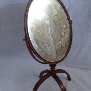Rare mercury travelling mirror – 18th century Georgian Antique Mirrors