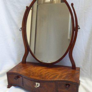Mahogany toilet mirror circa 1810 Georgian Antique Mirrors