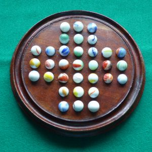 Early Victorian solitaire board solitaire Antique Toys
