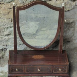 Georgian toilet/dressing table mirror circa 1760 Georgian Antique Mirrors