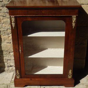 Walnut pier cabinet circa 1890 pier cabinet Antique Cabinets