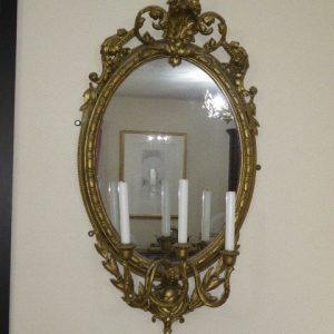 Pair of girandole mirrors circa 1870 girandole Antique Mirrors