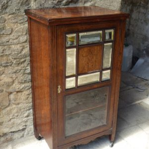 Victorian rosewood cabinet cabinet Antique Cabinets