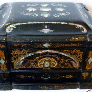 Papier-mâché Jewel Cabinet