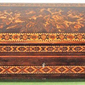 Tunbridge Ware Glove Box
