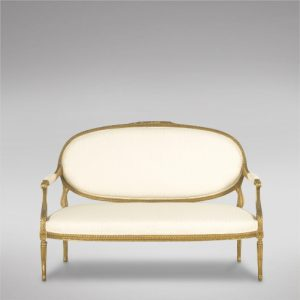 A French Carved Giltwood Canape Antique Antique Sofas