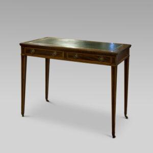 Sheraton Revival Writing Desk c1890 Antique Antique Desks