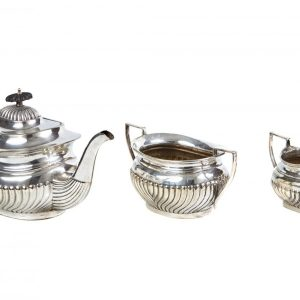 Victorian Silver Plated Tea Set antique silver tea set Antique Silver