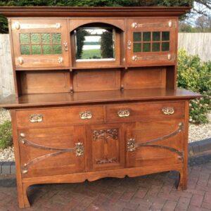 Arts & Crafts Oak Dresser Arts and Crafts Antique Dressers