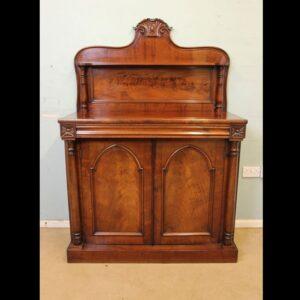 Antique Victorian Mahogany Chiffonier Sideboard.