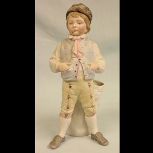 Antique Bisque Figurine of Young Boy.