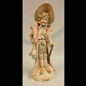 Antique Bisque Figurine of Gentleman
