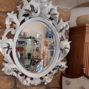 19th Century Large French Rococo Wall Mirror Victorian French Mirror Antique Mirrors