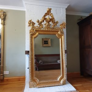 French giltwood wall mirror french mirror Antique Mirrors
