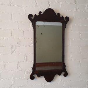 English fret wall mirror Antique Mirrors