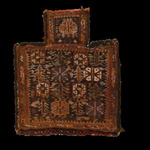 SHAHSEWAN SUMAK SALTBAG 60cm x 50cm Antique Antique Rugs