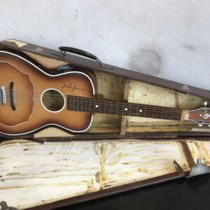Gallotone Champion acoustic guitar British Antique Musical Instruments