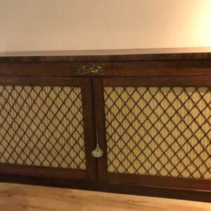 Superb Dwarf rosewood bookcase Antique Cabinet Antique Bookcases