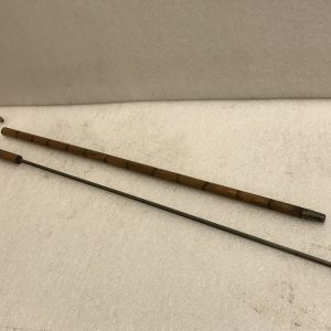 Gentleman's walking stick sword stick with silver collar Antique Collectibles