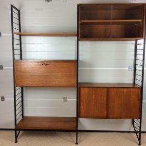Ladderax 2 Bay Modular Lounge Unit by Staples ladderax Antique Cabinets