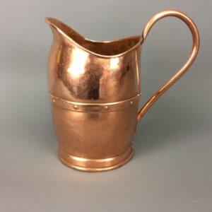 Arts & Crafts Riveted Jug Arts and Crafts Antique Metals