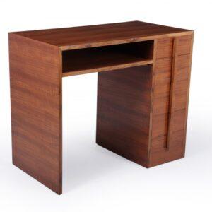 Art Deco Desk In Walnut c1930 Antique Desks