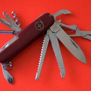 SALE – A Vintage Victorinox 10 Bladed With 12 Applications Pocket Knife – Knives/ Collectable Antique Knives Antique Knives