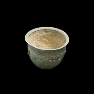 Green patina bronze Pot- Dong Son culture, Vietnam Antique Antiquities