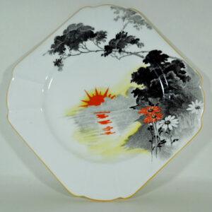 Art Deco Shelley Tea Plate Shelley Antique Ceramics