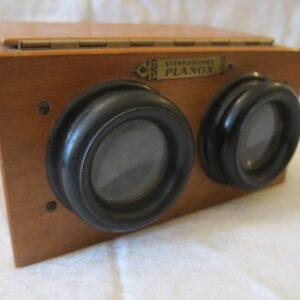 "19th Century Fruitwood ""Planox"" Stereoscope fruitwood Scientific Antiques"
