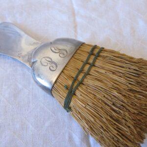 """Antique """"Black Starr""""Gorham Sterling Silver Shoe Horn & Brush silver Antique Silver"""