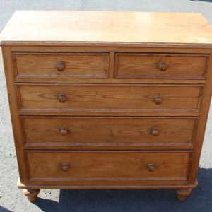 1900's Quality Country Pine Chest of Drawers Antique Antique Chest Of Drawers