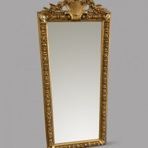 A French Pier Mirror Antique Mirrors