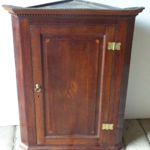 Oak corner cupboard circa 1760 corner cupboard Antique Cupboards