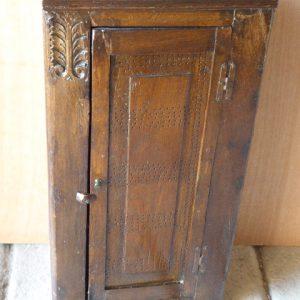 16th century oak corner cupboard corner cupboard Antique Cupboards
