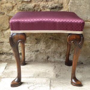 19th century walnut stool stool Antique Stools