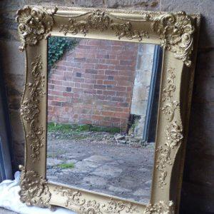 Large decorative Victorian mirror mirror Antique Mirrors