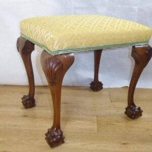 Walnut stool circa 1880 stool Antique Stools