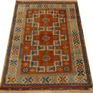BERGAMA 157cm x 121cm Handmade Antique Rugs